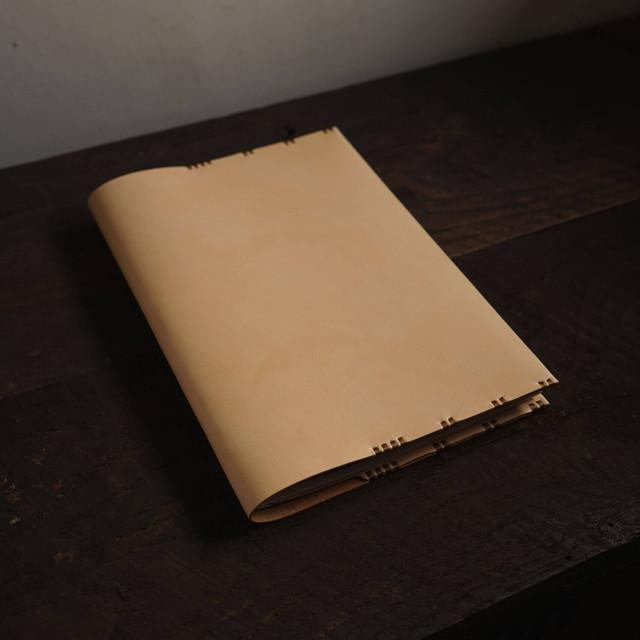 ノートカバー B5サイズ 牛ヌメ革