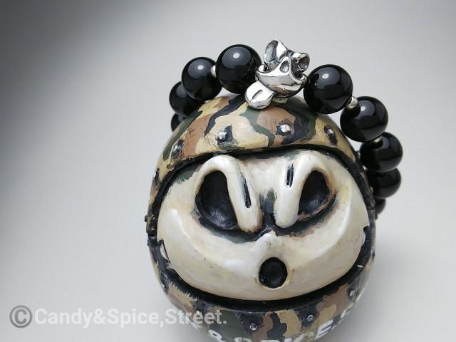 ROONEY Beads Bracelet テヘペロルーニー オニキスブレスレット BR2