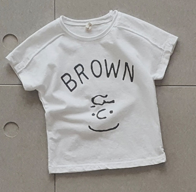 SALE【即納】Tシャツ子供服2色│ホワイト・グレーの子供服T