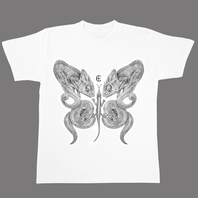 THE BUTTERFLY(爬虫類)Tシャツ