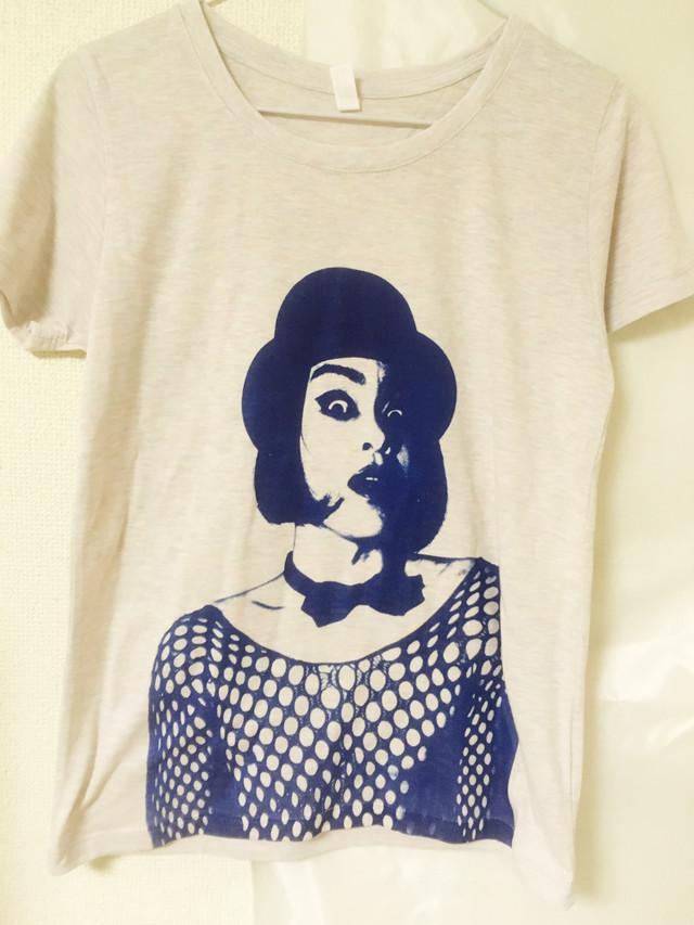 【Tシャツ】蜂鳥あみ太Tシャツ「アミタッティー2018」オーロラヘザー