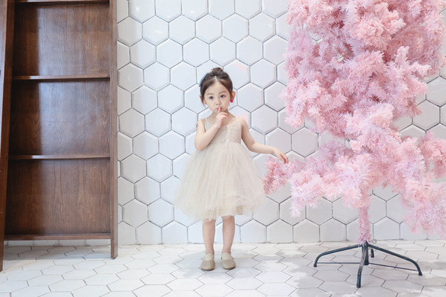 Volume tulle dress baby kids