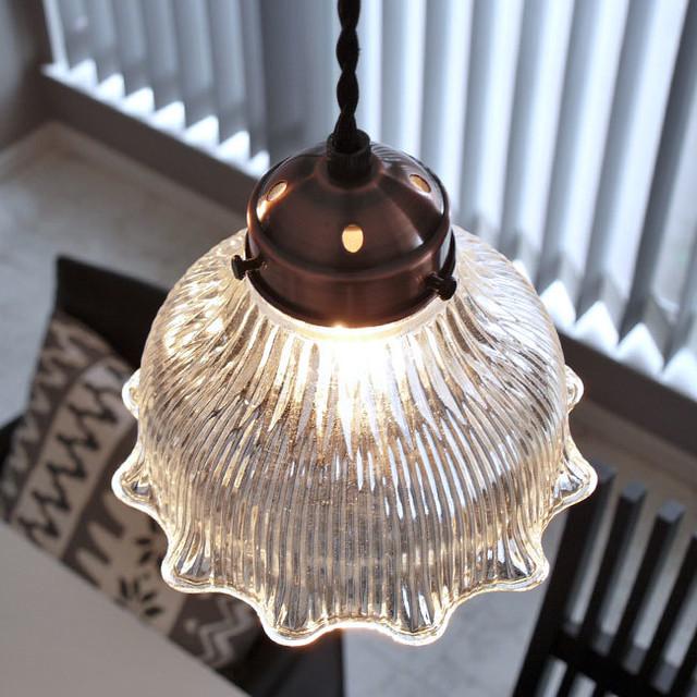 ペンダントライト ランプ Clay(クレイ) ガラス LED対応