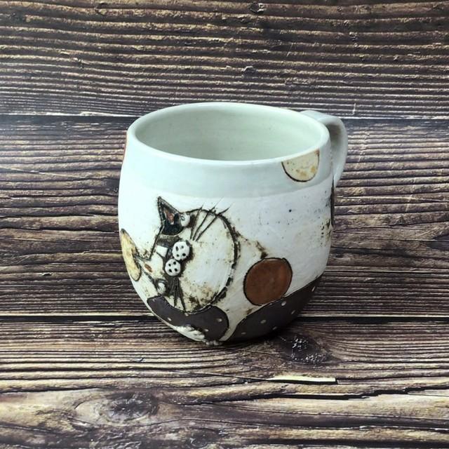 猫マグカップ vanguai kou-bou作 130-3