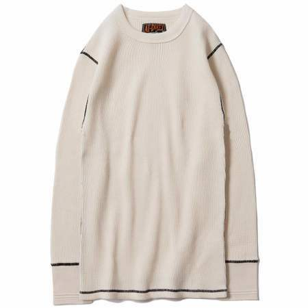 AT-DIRTY(アットダーティー) / HEAVY CREW THERMAL(NATURAL)
