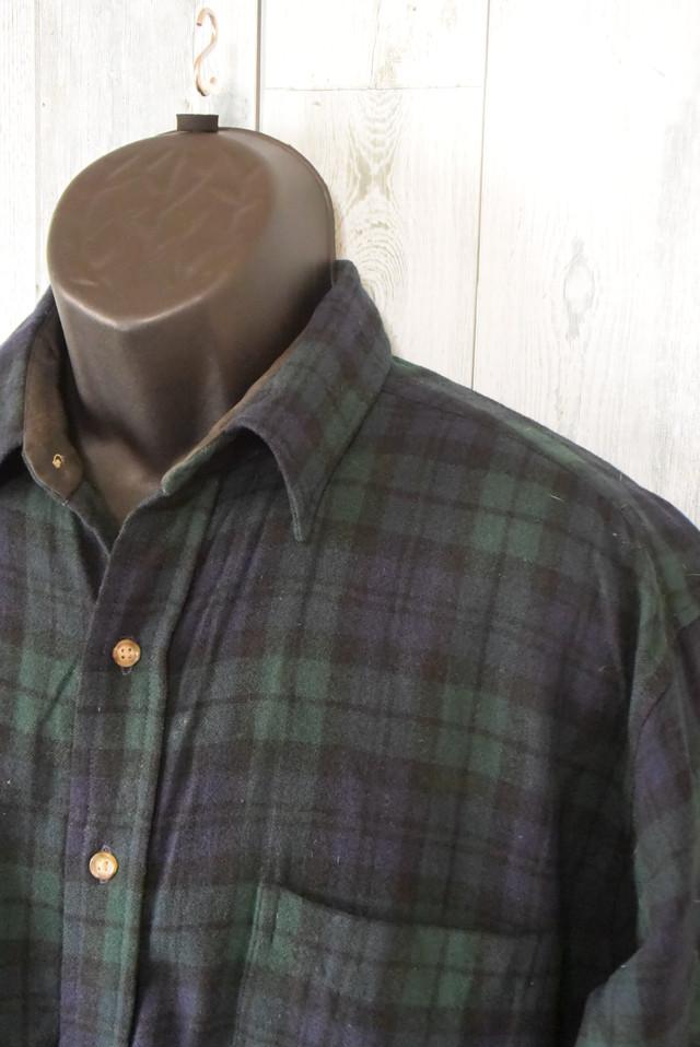 PENDLETON(ペンドルトン) フランネルチェックシャツ Lサイズ RankB