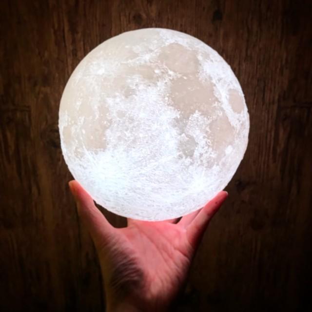 月ドロボー ムーンライト 20cm 16色 リモコン ランプ