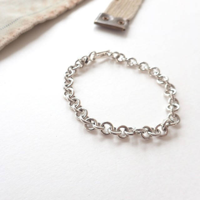 Rolo Chain Bracelet(8mm)
