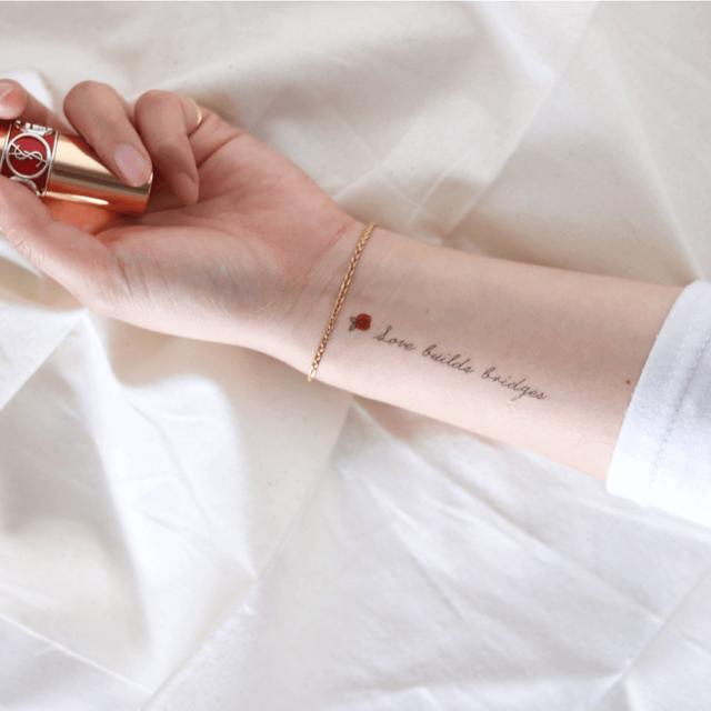 Love bridges タトゥーシール (感性デザイン)