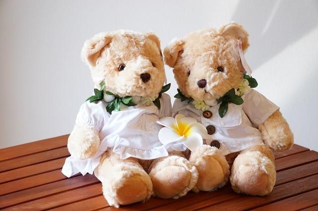 Aloha Wedding bear Set