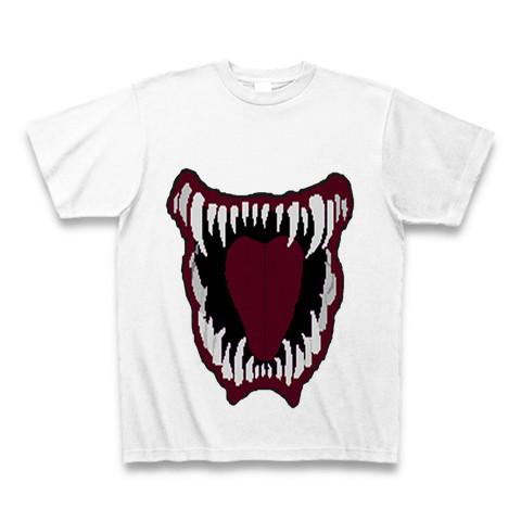 怪物の口Tシャツ