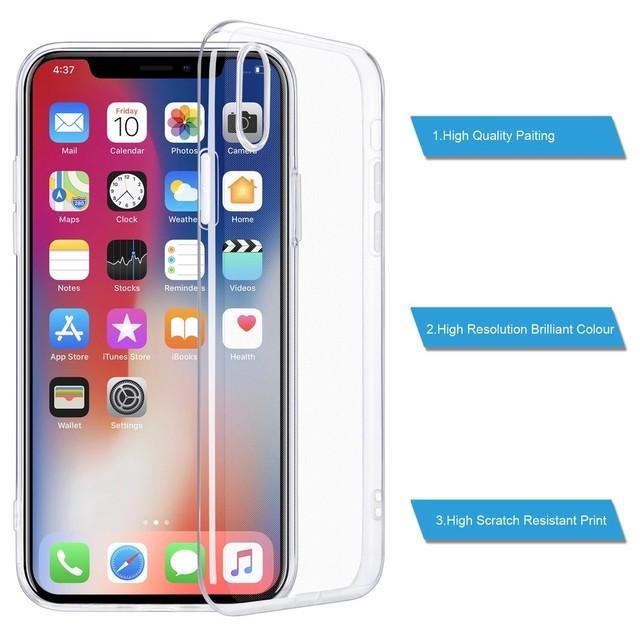 【送料無料】iPhone X/XS/XSMAX/XR/5/5s/SE/6/6s/7/8/7plus/8plus クリアケース