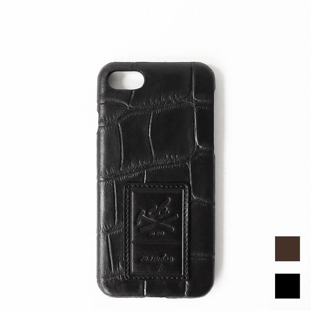 【iPhone7用】本革iPhoneケース クロコ Croco Embossing Leather iPhone case