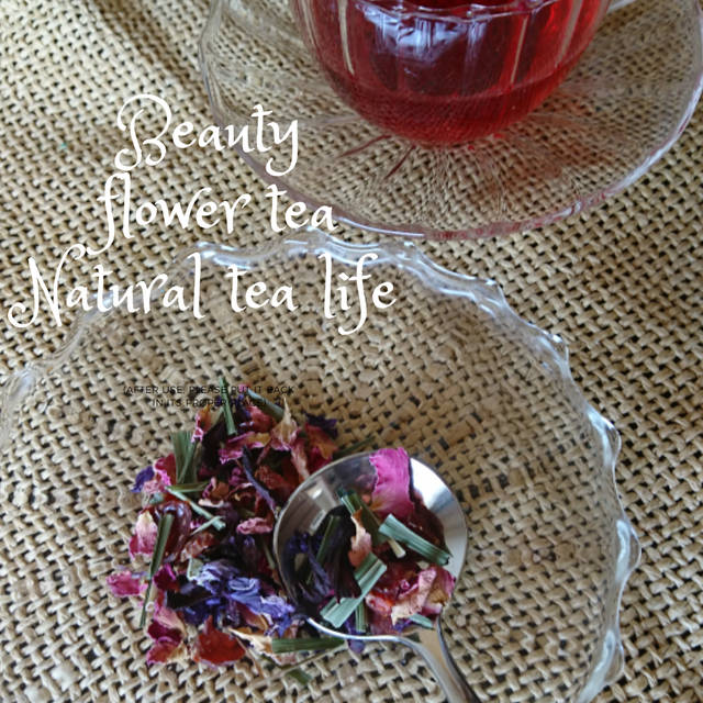 美肌効果・紫外線防止に「Beauty Flower Tea」Sサイズ