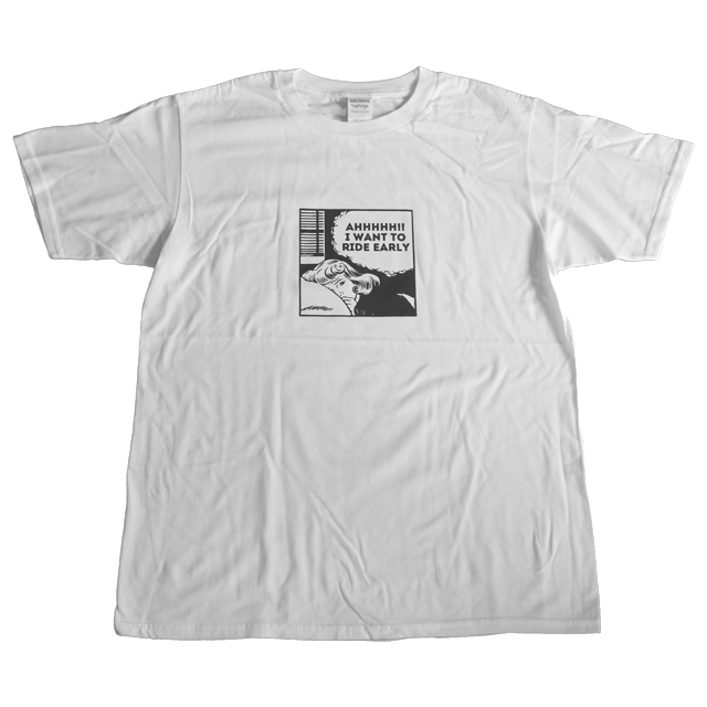 roll on s/s tee (white)