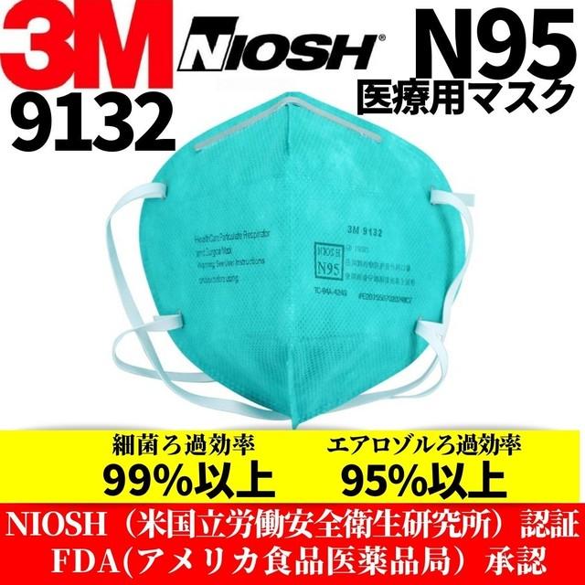 3M N95 9132 医療用マスク