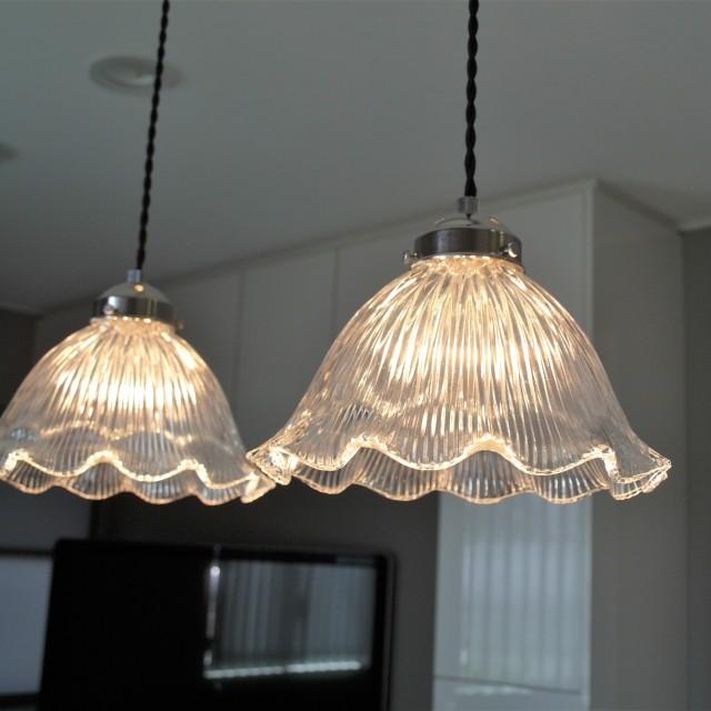 ペンダントライト ランプ 照明 Viola(ヴィオラ) ガラス モダン 北欧 LED対応