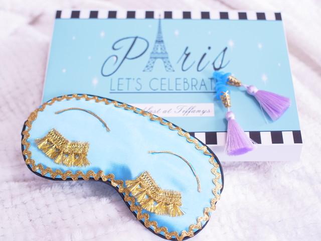 ベストセラー映画セット「Paris」アイマスク&耳栓 ティファニーで朝食を