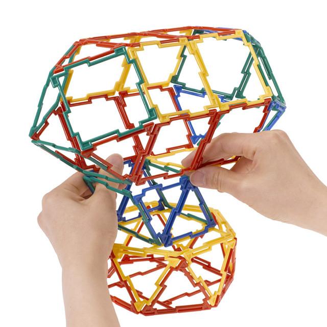 GEOFIX(ジオフィクス) バラエティセット スタンダード 知育玩具 ブロック