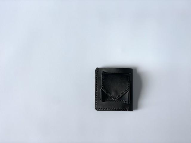 f-19le0012o コンパクトに高機能に minimal wallet black