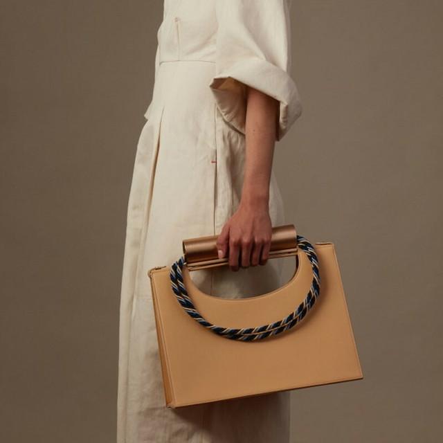 Cylinder rope handbag シリンダー ロープ ハンドバッグ