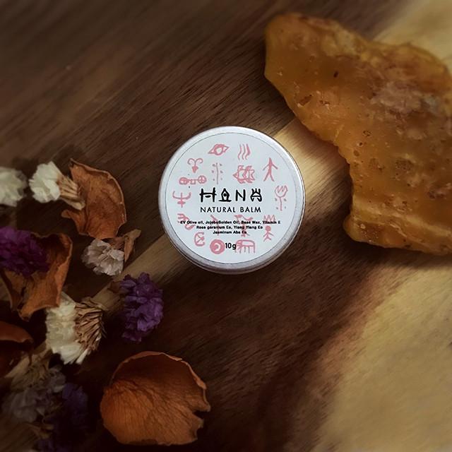 【残り25個】天然無添加! 保湿バーム NATURAL BALM:HANA(フラワー系の香り)☆10g
