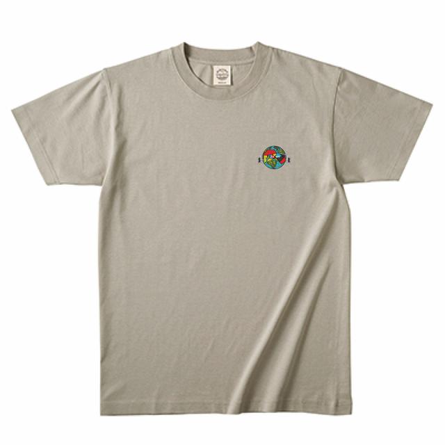 TRUSS 5.3oz オーガニックコットンTシャツ  ミルキーグレー