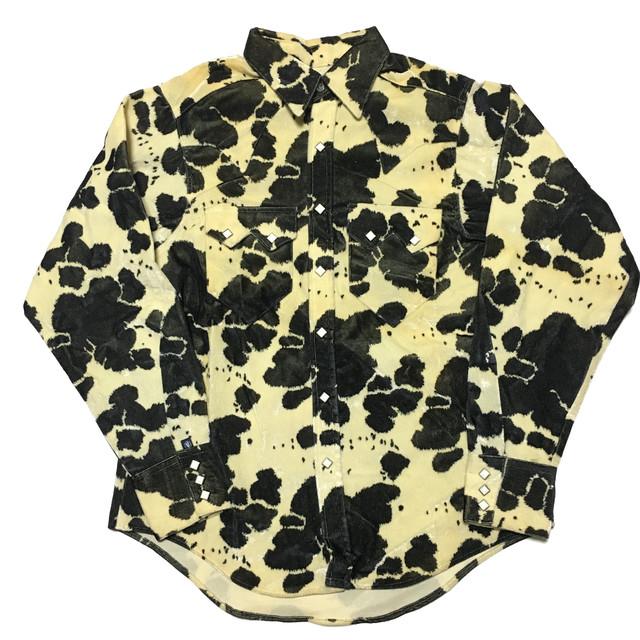 USA製 Rockmount 牛柄ウエスタンシャツ