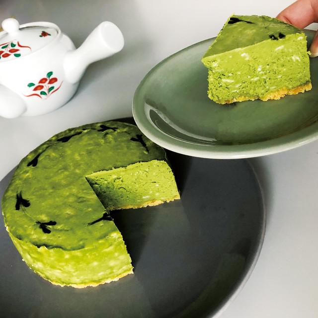 生抹茶チーズケーキ