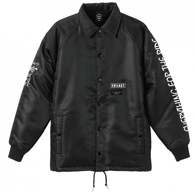 EVILACT(イーブルアクト) / Double Crossbone Boa Coach Jacket
