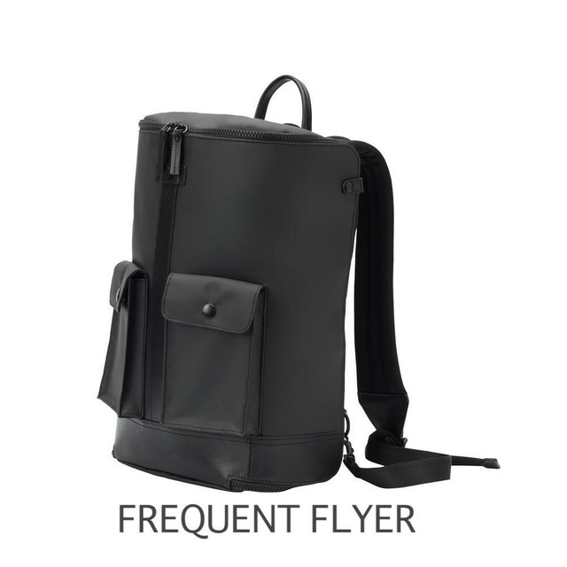 FREQUENT FLYER★Black/CAPTAIN ZIP AROUND BACKPACK(L)リュック