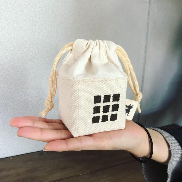 ウルフ舎のルービックキューブキューブケース/色:モノクロ Item name:Rubik's Cube Case (Wolf-sya original):color design