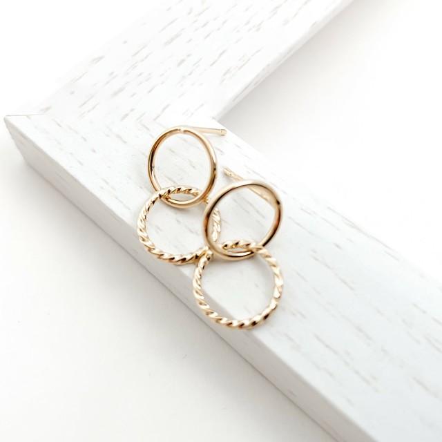 doble ring pierces n456