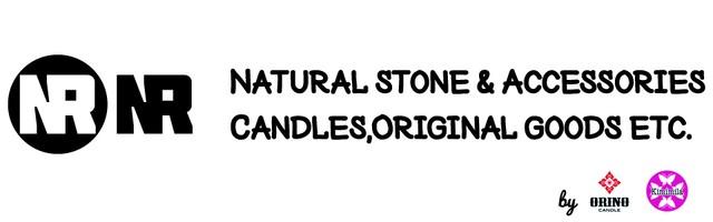 NR エヌアール アロマキャンドル・天然石の原石・マクラメ編みアクセサリーの通販