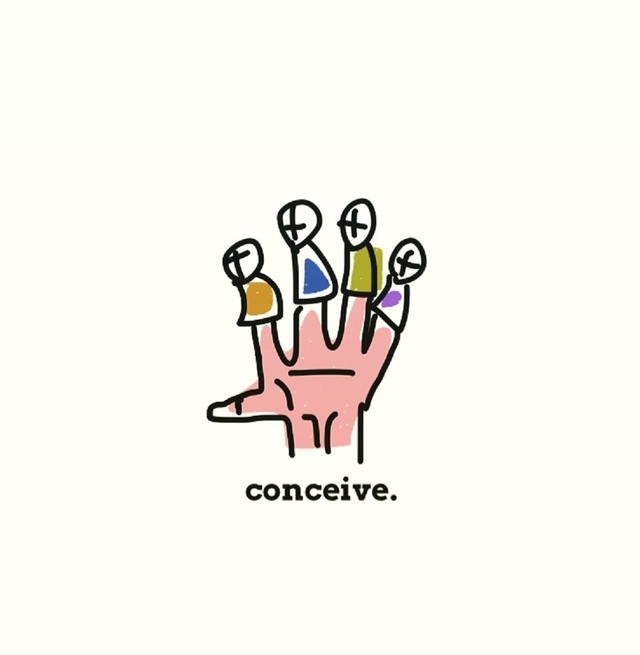 conceive.