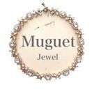 Muguet Jewel  オシャレな大人花嫁のウェディングアクセサリー/ 大ぶりピアス・イヤリング
