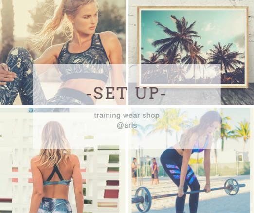 SetUP!トレーニングウェア  ヨガウェア フィットネス
