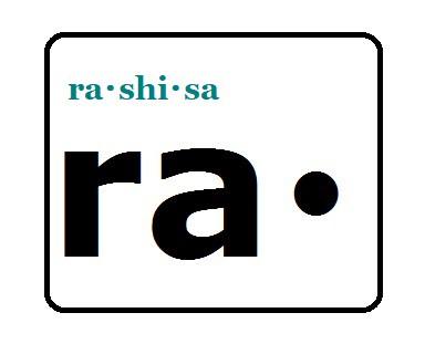 ra・shi・sa