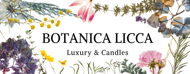 【3Dボタニカルキャンドル専門店】 BOTANICA LICCA -Luxury & Candles-