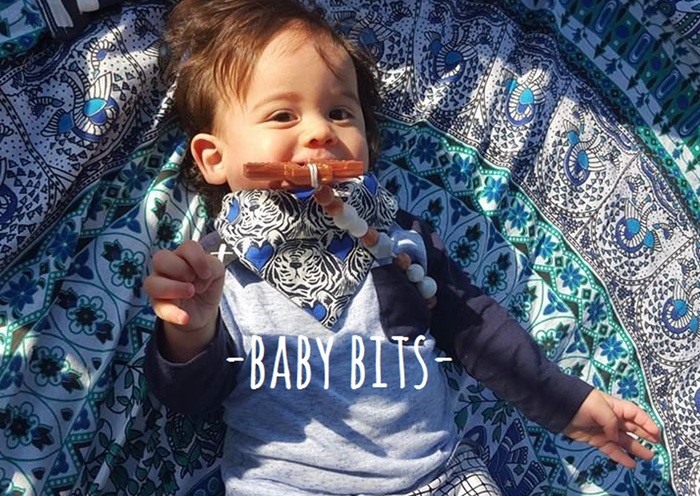 海外ママの間で大流行!最新トレンド「Baby bits」の歯固めがとっても可愛い♡