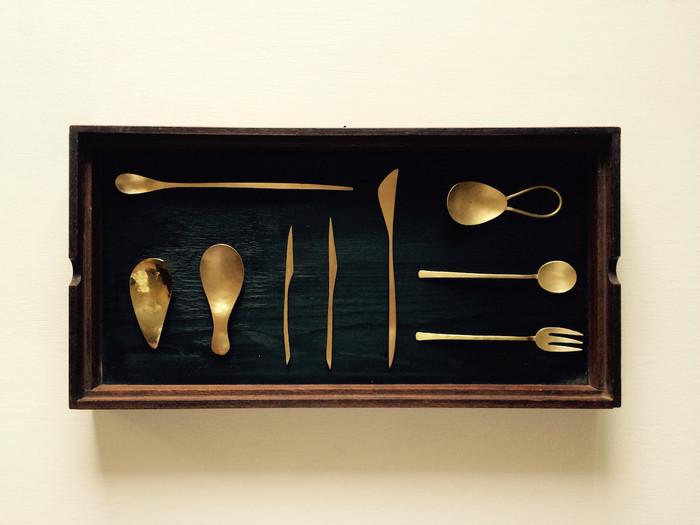使えば使うほど味が出る!丹精込めて作られたエレガントな「真鍮製」の食器