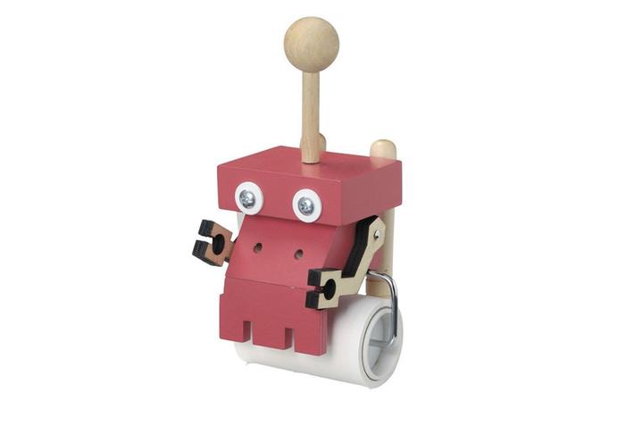 まるでおもちゃみたい!思わずコロコロしたくなる「どりあ〜ど」のあかいコロコロクリーナーロボット