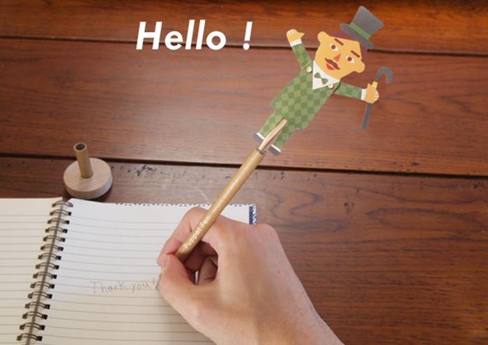 「MiSHKeT」のパペットペンでデスクに癒しスポットを立ててみませんか?♡