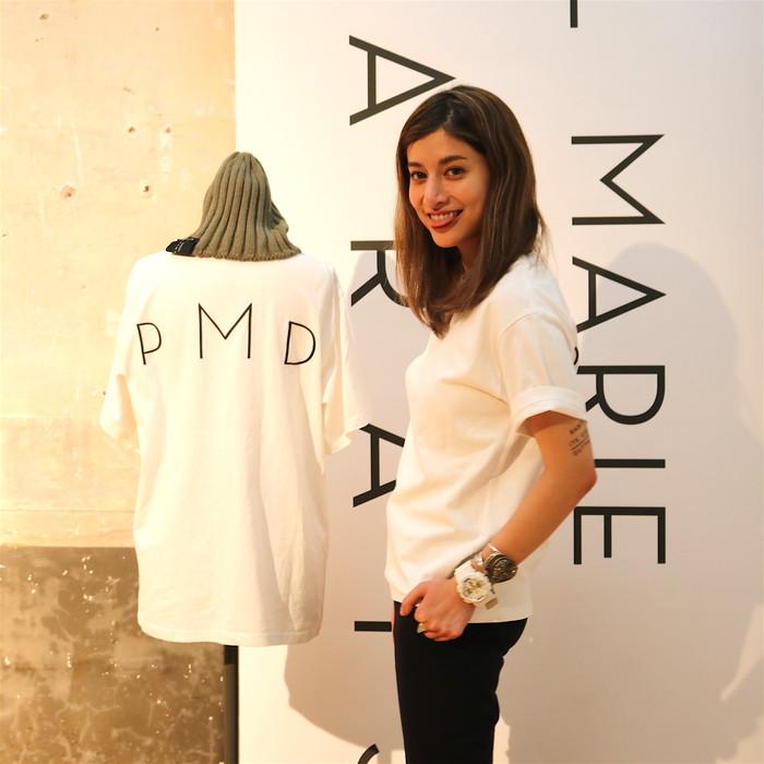 制作に4年を費やしたマリエの新ブランド「PASCAL MARIE DESMARAIS」からTシャツが枚数限定で発売!