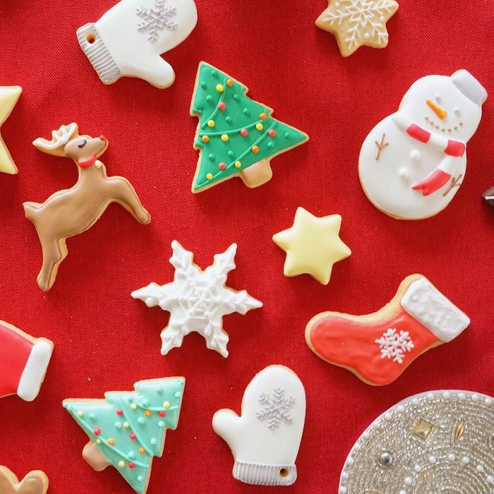 #baseec_Xmas #アイシングクッキープレゼント でツイートしよう!Xmas限定アイシングクッキーをプレゼント