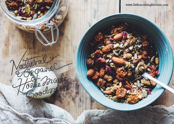「Little Morning  Kitchen」のこだわりのグラノーラには毎日美味しく、毎日元気になれる秘密がある!
