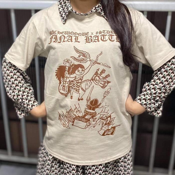 まちゅこけ&#STDRUMS 「FINAL BATTLE」Tシャツ