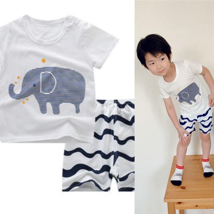 【10%OFFクーポン配布中】子供服 パジャマ 部屋着も可愛く 男の子☆