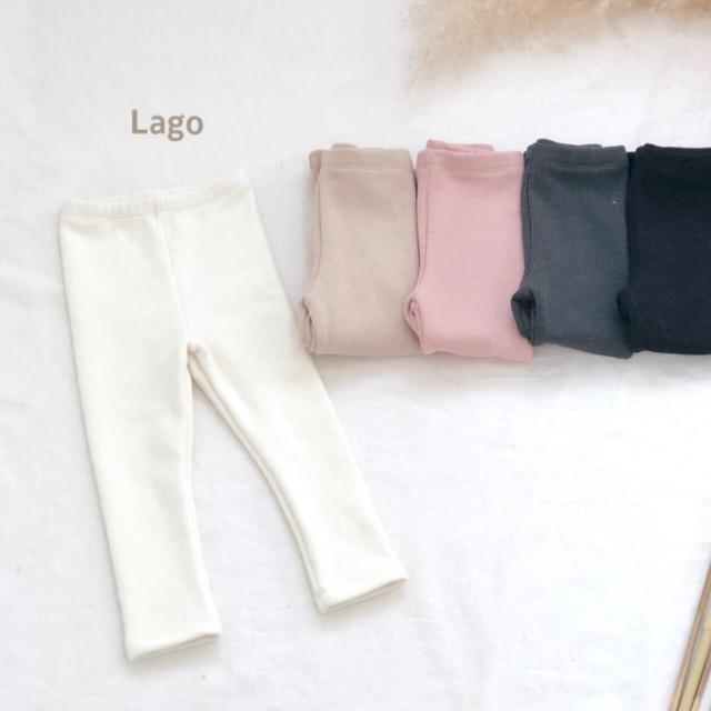 韓国冬子供服LAGO   レギンス 裏起毛