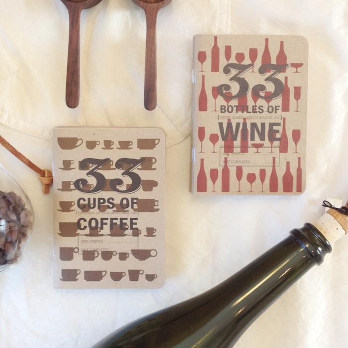 コーヒーやワイン、飲み比べは好きだけど経験として残っていかないあなたに 33BOOKS Series
